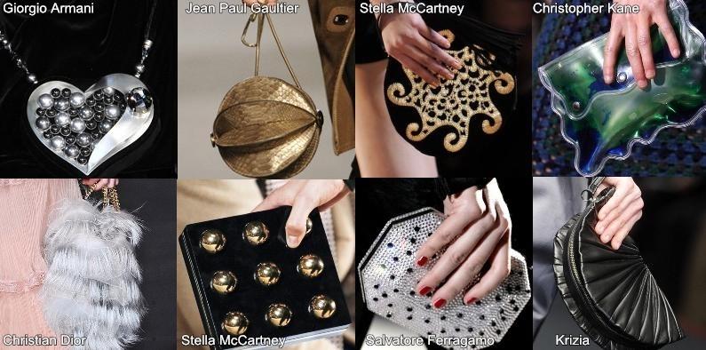 Новогодние аксессуары и обувь 2012 - клатч