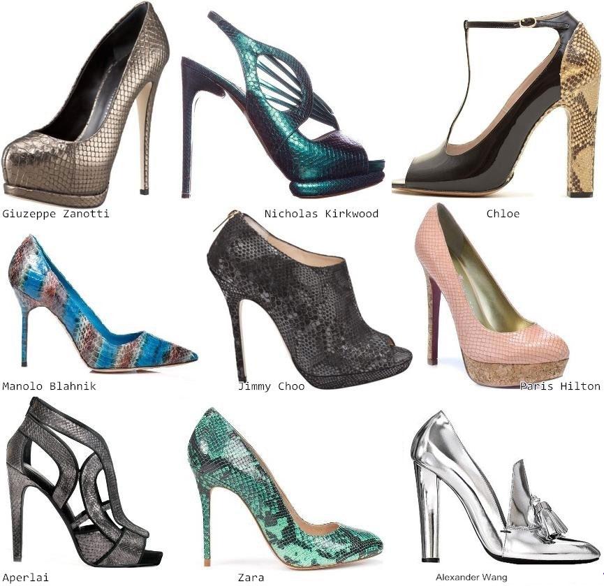 Новогодние аксессуары и обувь 2012 - обувь