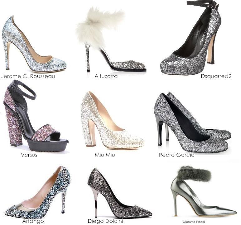 Новогодние аксессуары и обувь 2012 - туфли