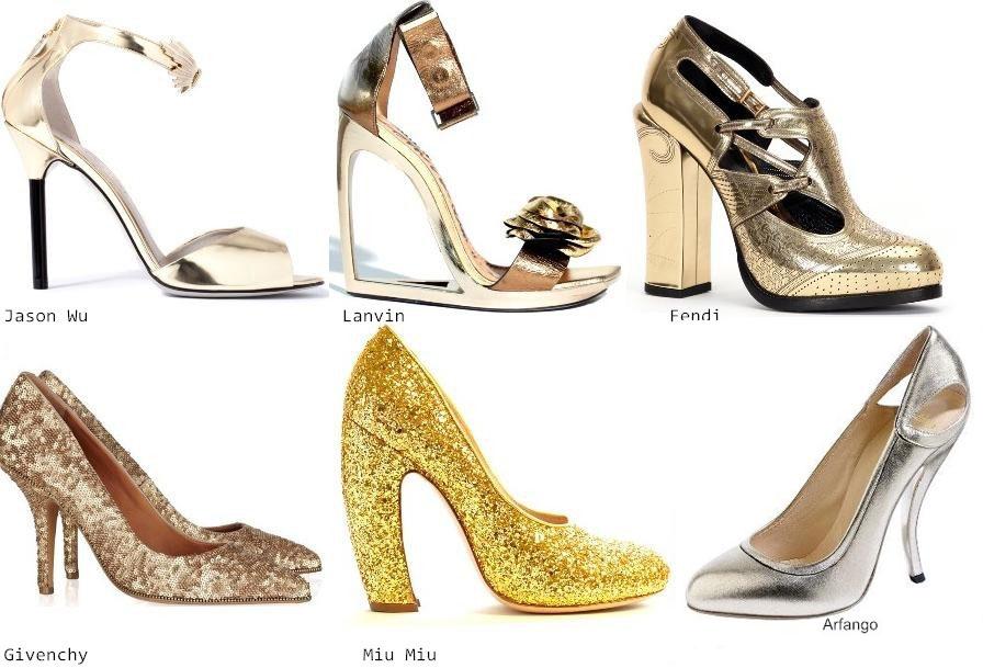 Новогодние аксессуары и обувь 2012 - туфельки
