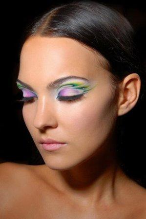 Новогодний макияж 2012 - 19