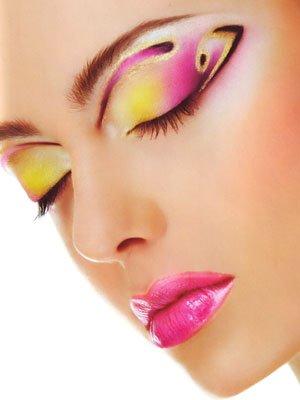 Новогодний макияж 2012 - 21