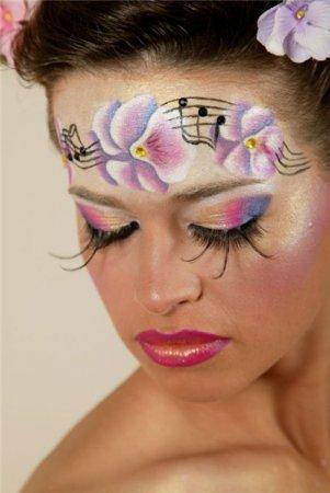 Новогодний макияж 2012 - 10
