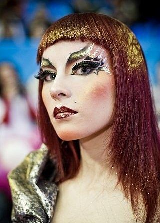 Новогодний макияж 2012 - 12