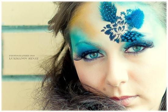 Новогодний макияж 2012 - 11