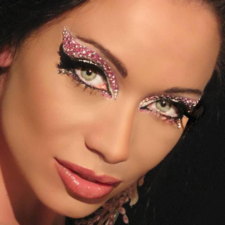 Новогодний макияж 2012 - 31