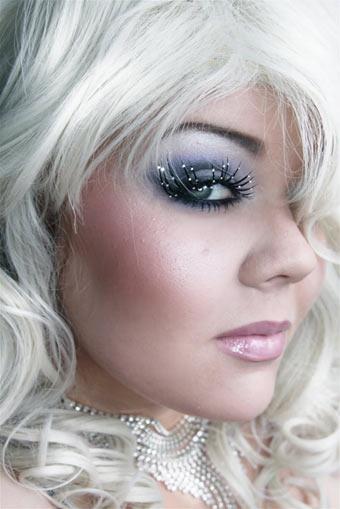 Новогодний макияж 2012 - 32