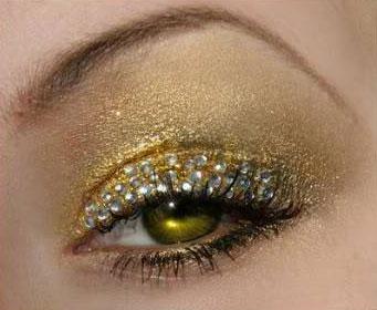 Новогодний макияж 2012 - 29