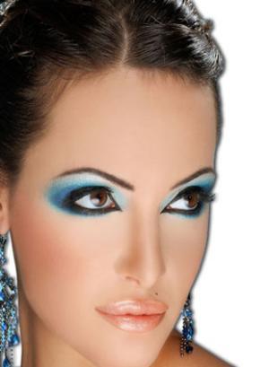 Новогодний макияж 2012 - 24
