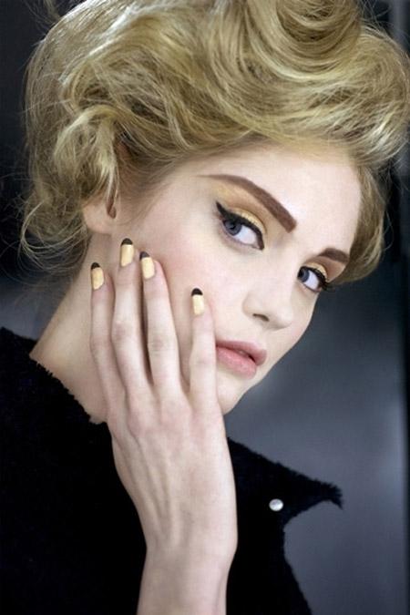 Новогодний макияж 2012 - 7