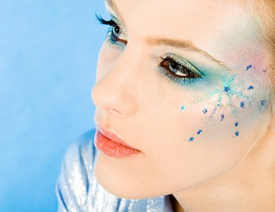 Новогодний макияж 2012 - 9