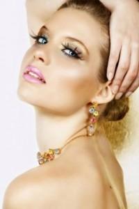 Новогодний макияж 2012 - фото