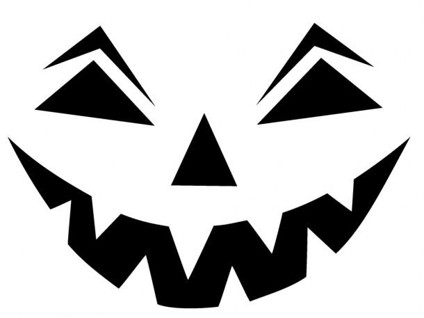 Шаблоны для тыквы на Хэллоуин - 11