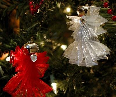 Ангелы для новогодней елки