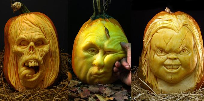 Лучшие тыквы на Хэллоуин - 1
