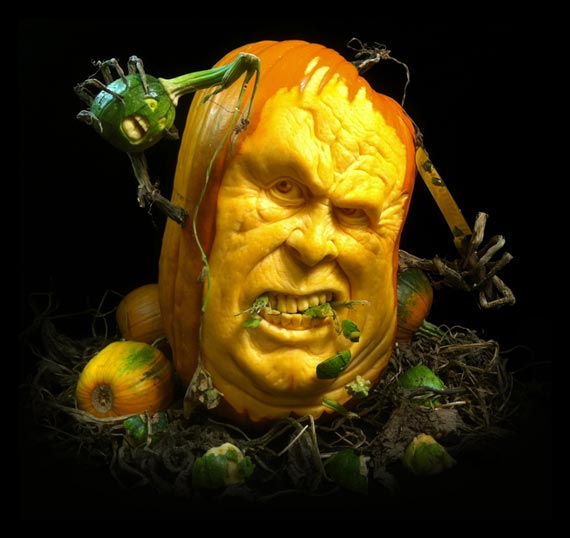 Лучшие тыквы на Хэллоуин - 9