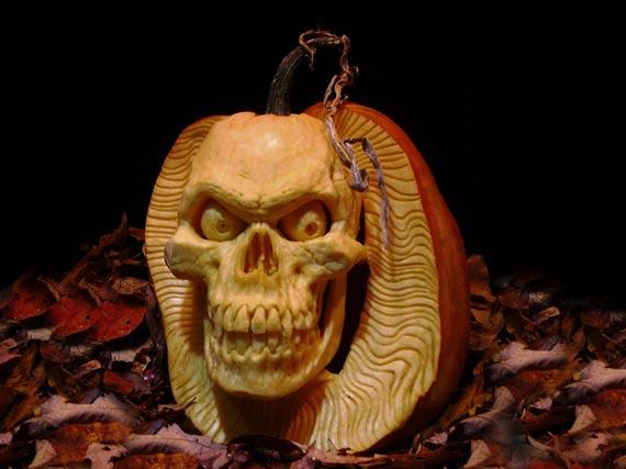 Лучшие тыквы на Хэллоуин - 10
