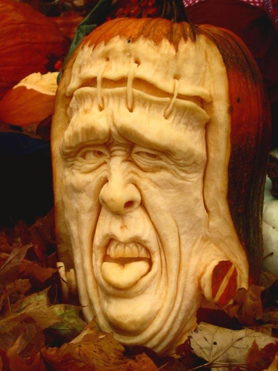 Лучшие тыквы на Хэллоуин - 11