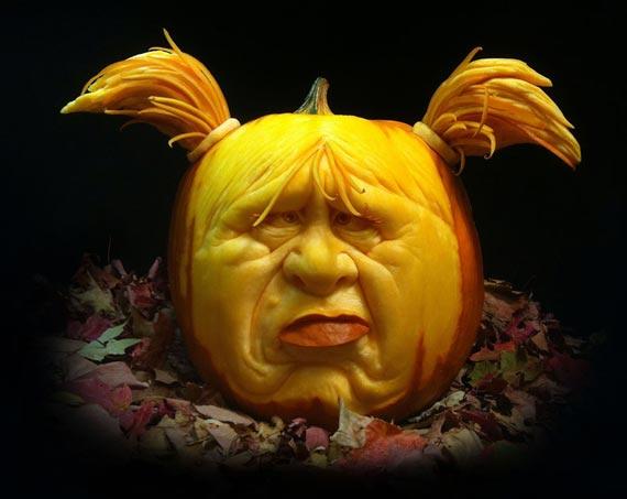 Лучшие тыквы на Хэллоуин - 12