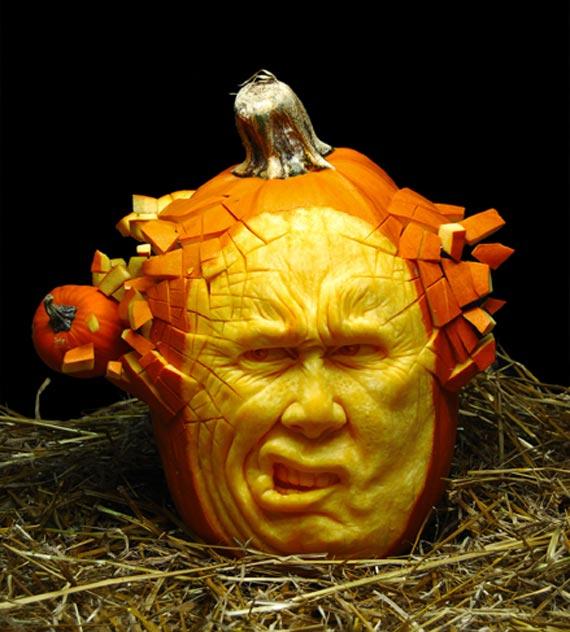 Лучшие тыквы на Хэллоуин - 16