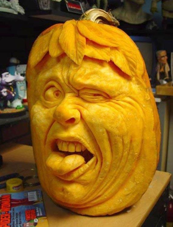 Лучшие тыквы на Хэллоуин - 17