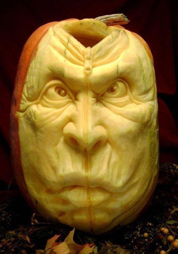 Лучшие тыквы на Хэллоуин - 18