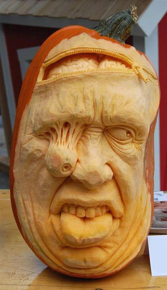 Лучшие тыквы на Хэллоуин - 19