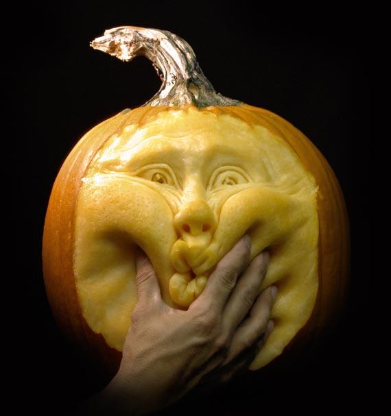 Лучшие тыквы на Хэллоуин - 20