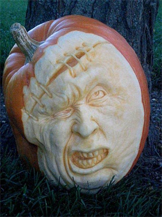 Лучшие тыквы на Хэллоуин - 21
