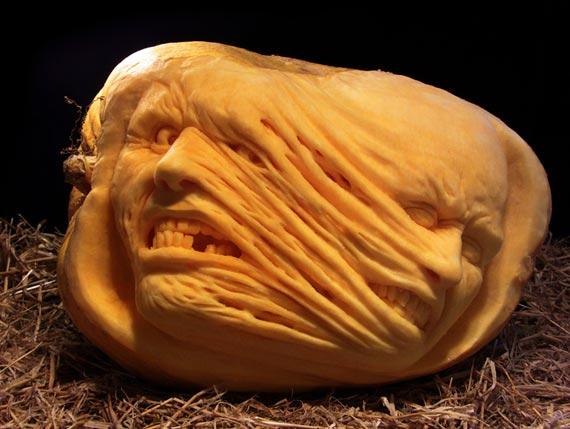 Лучшие тыквы на Хэллоуин - 23
