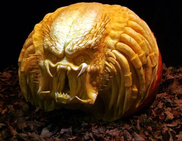Лучшие тыквы на Хэллоуин - 24