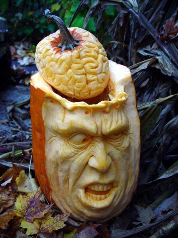 Лучшие тыквы на Хэллоуин - 4