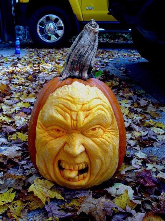 Лучшие тыквы на Хэллоуин - 5