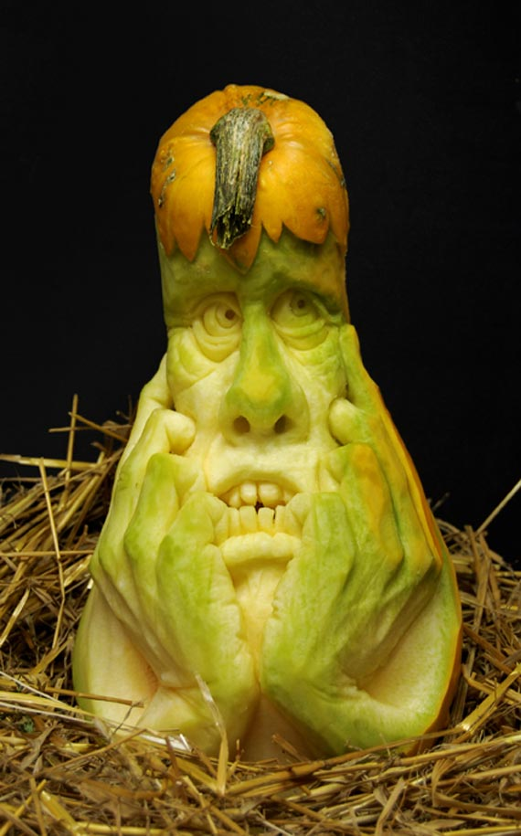 Лучшие тыквы на Хэллоуин - 7