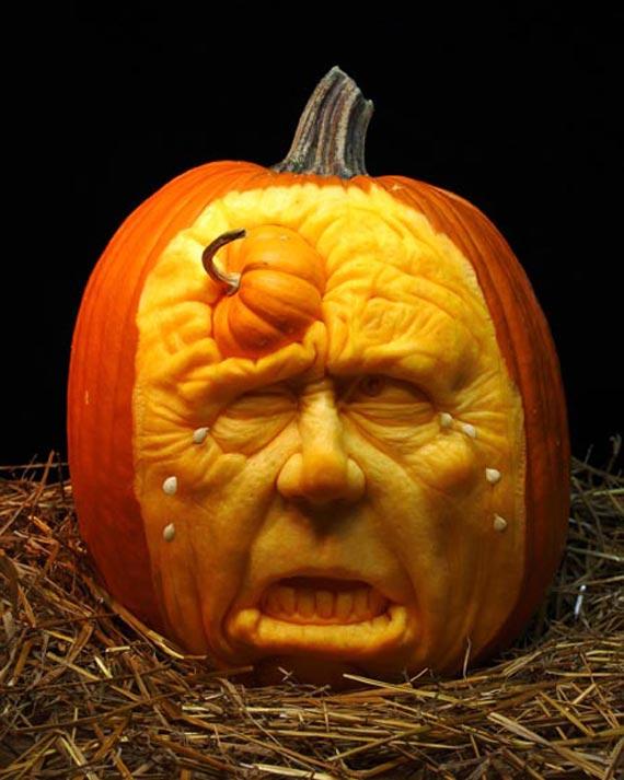 Лучшие тыквы на Хэллоуин