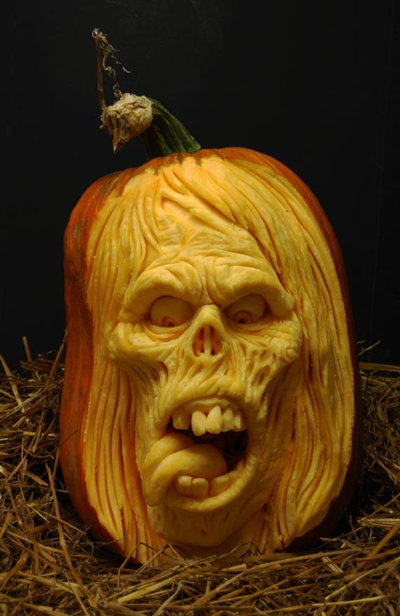Лучшие тыквы на Хэллоуин - 8