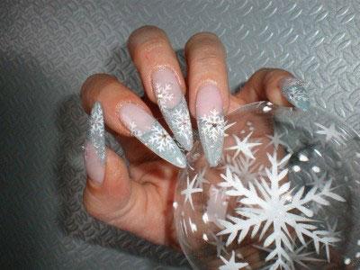 Новогодний маникюр 2012 фото 19