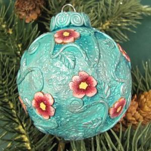 Новогодние украшения из полимерной глины