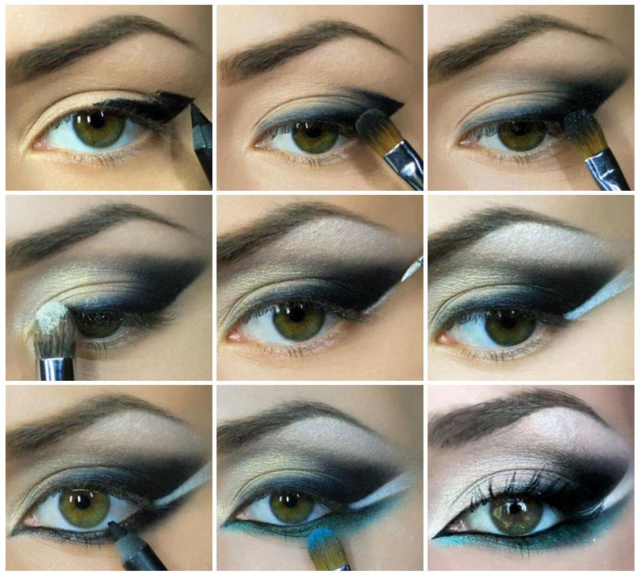 Как делать макияж 1
