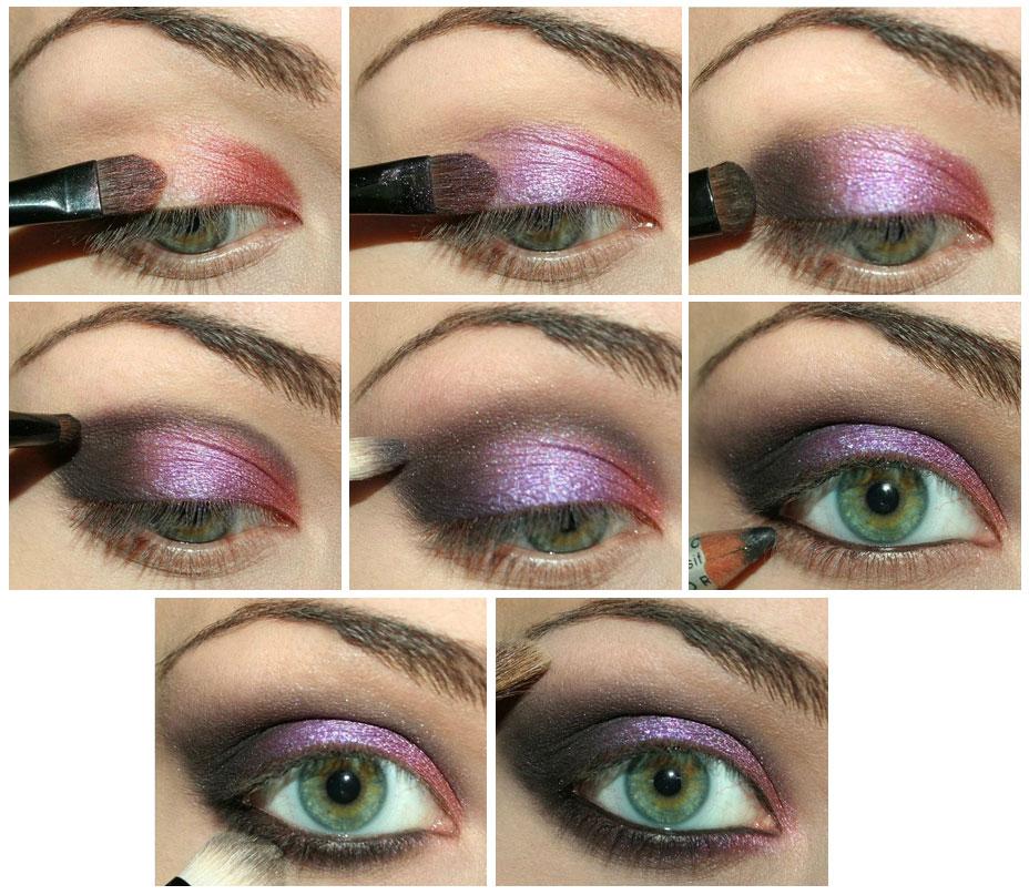 Как делать макияж 7