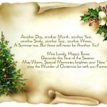 Поздравления с Рождеством на английском