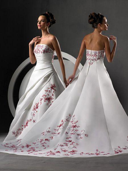 Свадебные платья 2012 - 34