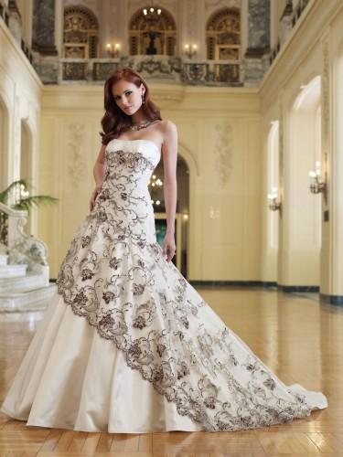 Свадебные платья 2012 - 33