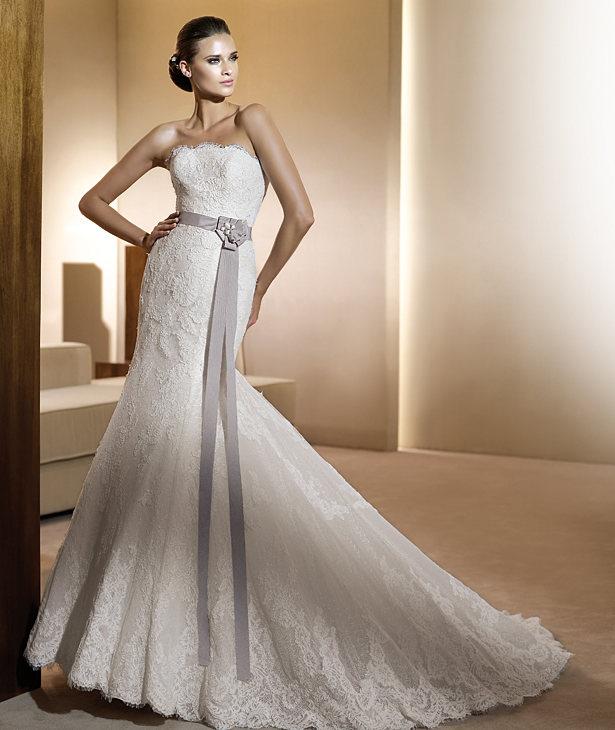 Свадебные платья 2012 - 38