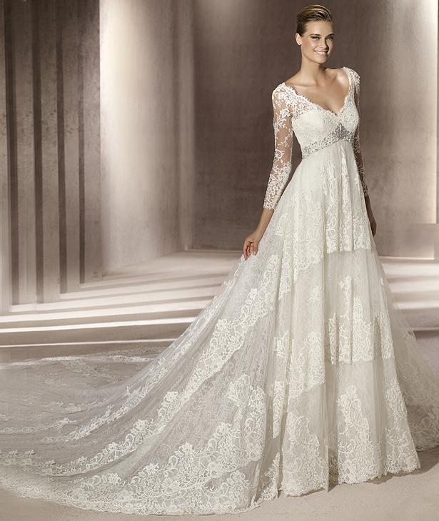 Свадебные платья 2012 - 59