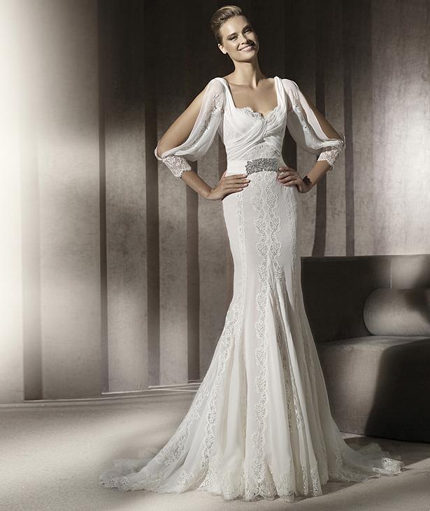 Свадебные платья 2012 - 64