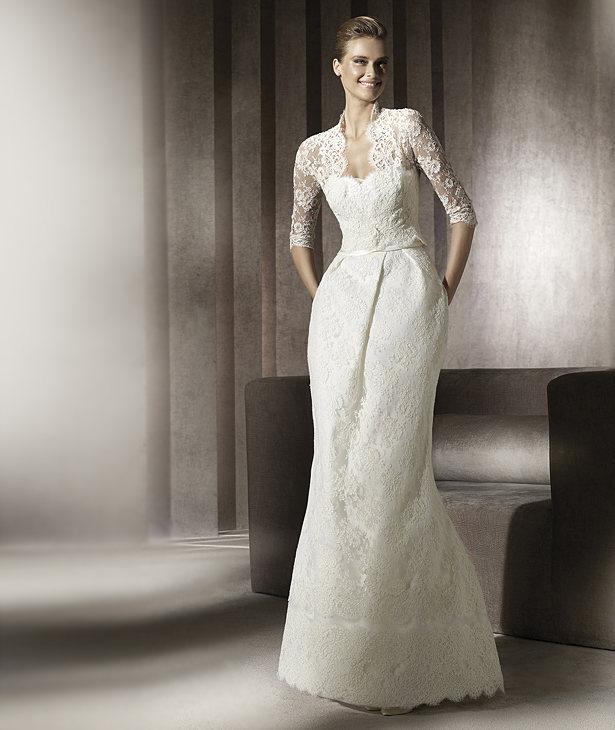 Свадебные платья 2012 - 65