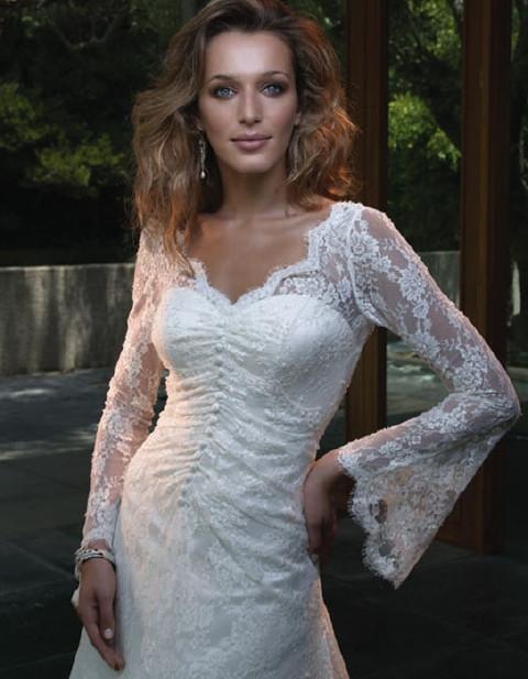 Свадебные платья 2012 - 67