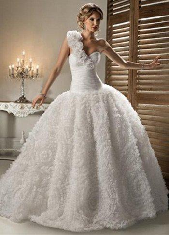 Свадебные платья 2012 - 45