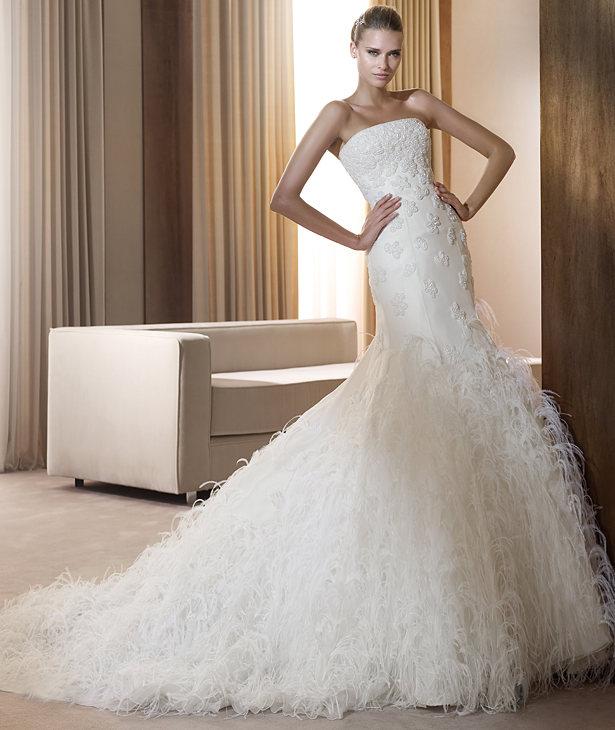 Свадебные платья 2012 - 46